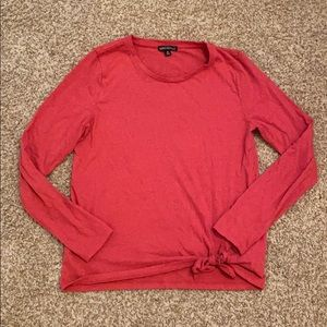J.Crew Mercantile long sleeve top size M in pink